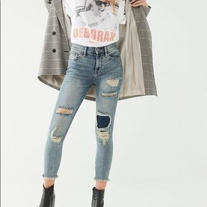 Urban Outfitters BDG crop twig high rise jeans